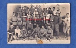 CPA Photo - OUDJDA - Pére Cent De Soldat Du 2e Régiment Du Génie ? étranger ? - Casque Colonial - A. Réty - Militaria
