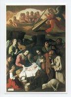 Francisco De Zurbaran: L'Adoration Des Bergers, Ange, Harpe, Bebe, Mouton (19-1101) - Paintings
