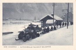 Chamonix, Auto-Chenille Tailing Et Skijoering (pk60801) - Chamonix-Mont-Blanc