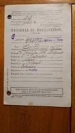 FASCICULE DE MOBILISATION CHALONS SUR MARNE 1938 - 1939-45