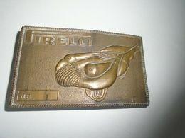 Salvador Dali Belt Vintage Pirelli Salvador Dali Buckle,Nude Brass Race Car, Erotica - Brons