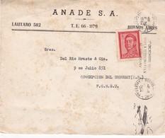 1962 COMMERCIAL COVER - ANADE SA. CIRCULEE BUENOS AIRES TO ENTRE RIOS, BANDELETA PARLANTE - BLEUP - Argentine