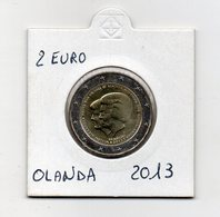 Olanda - 2013 - 2 Euro Commemorativo FDC - Abdicazione Regina Beatrice - (MW2465) - Paesi Bassi