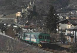 482 ALn 663.1008 Fiat Saint Pierre Aosta Rairoad Treain Railweys Treni - Trains