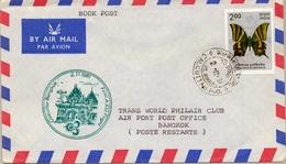 1981 , INDIA , PRIMER VUELO / FIRST FLIGHT - CALCUTTA / BANGKOK - India