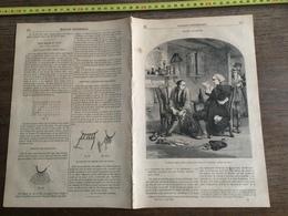 1853 MP OLIVIER GOLDSMITH VICAIRE WAKEFIELD VALLEE D URGUB MARCHIANNE PETIT TRAITE DU FILET - Collections
