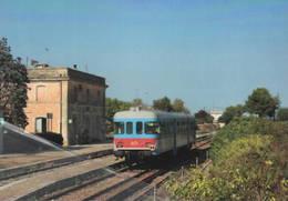 487 FSE OMECA Ex Staxione Di Bagnolo Del Salento Lecce Rairoad Treain Railweys Treni - Trains