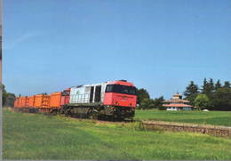 488 G 2000.21 Vassloh Pratissolo Reggio Emila Rairoad Treain Railweys Treni - Trains