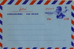 IRÁN  , AEROGRAMA NUEVO SIN CIRCULAR - Irán