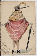 AK---AQUARELL---HANDGEMALT---PAINTS A LA MAIN--Q11--!!!!!! - Other Illustrators