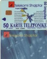 TARJETA TELEFONICA DE ALBANIA. 06.97 (061) - Albania