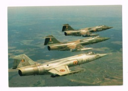 Armée Belge.Lockeed F104G Starfighter - Matériel