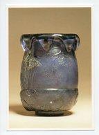 Emile Galle: La Soldanelle Des Alpes, Vase En Cristal (19-1107) - Fine Arts