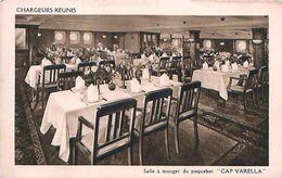 Cpa CHARGEURS REUNIS - Salle à Manger Du Paquebot CAP VARELLA - Steamers