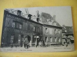 T3 454 CPA 1919 - 76 CLERES. CAFE DEBIT BENOIST - ANIMATION. - Cafés
