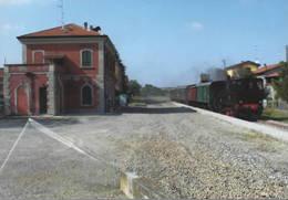 492 ACT CCFR 7 Henschel Stazione Di Cavriago Reggio Emilia Rairoad Treain Railweys Treni - Trains