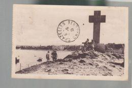 CP (33) Saint-Lunaire  -  Pointe Du Décollé -  Croix Vue Vers La Plage - Saint-Lunaire