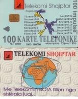 TARJETA TELEFONICA DE ALBANIA. 06.97 (063) - Albanië