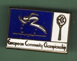 TENNIS *** EUROPEAN COMMUNITY CHAMPIONSHIP *** 1020 - Tennis