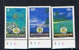 Cocos (Keeling) Islands SG 273-275 1992 Festive Season - Cocos (Keeling) Islands