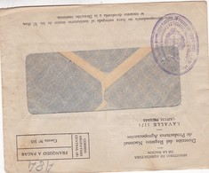 1950'S COMMERCIAL COVER - DIRECCION DEL REGISTRO NACIONAL DE PRODUCTOS AGROPECUARIOS. ARGENTINA - BLEUP - Argentine