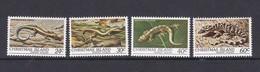 Christmas Island SG 144-147 1981 Reptiles MNH Set - Christmas Island