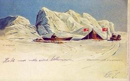 8 Aprile 1895 L'esploratore Novergese Fridtjoff Nansen - Riproduzione Da Originale - Cartoline