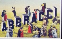 Abbracci - Italia 1904 - Riproduzione Da Originale - Cartoline