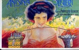 Anisina Olivieri - Dittaz Francesco Olivieri - Portosangiorgio - Italia 1904 - Riproduzione Da Originale - Cartoline