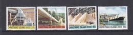 Christmas Island SG 140-143 1981 Phosphate Industry 4th Issue MNH Set - Christmas Island