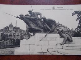 BELG - VERVIERS - Groupe De Militaires Du Monument Commémoratif De La Guerre. - Verviers