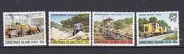 Christmas Island SG 136-139 1981 Phosphate Industry  3rd Issue MNH Set - Christmas Island