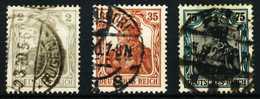 D-REICH GERMANIA Nr 102-104 Zentrisch Gestempelt X6871D2 - Deutschland