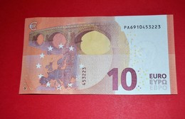 10 EURO NETHERLANDS P005C4 - Draghi - P005 C4 - PA6910453223 - UNC - NEUF - FDS - 10 Euro
