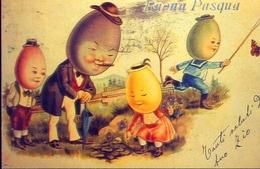 Buona Pasqua - Germania 1901 - Riproduzione Da Originale - Cartoline