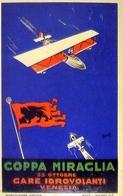 Coppa Miraglia - 25 Ottobre Gare Idrovolanti Venezia - Italia 1929 - Riproduzione Da Originale - Cartoline