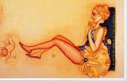 Donnina - Mauzan - Italia 1916 - Riproduzione Da Originale - Cartoline