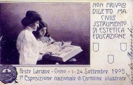 Feste Lariane - Como 1-24 Settembre 1905 - Pubblicitarie - Italia 1905 - Riproduzione Da Originale - Cartoline