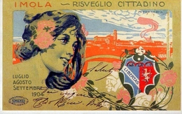 I Mola Risveglio Cittadino - Libertas - M.fracchia - Italia 1904 - Riproduzione Da Originale - Cartoline