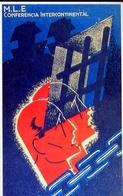 M.l.e. - Conferencia Intercontinental - Spagna 1939 - Riproduzione Da Originale - Cartoline
