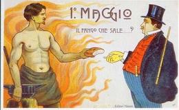 Primo Maggio 1901 - Il Fango Che Salei - Italia 1901 - Riproduzione Da Originale - Cartoline