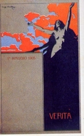 Primo Maggio 1905 - Verita - Lugi Onetti - Italia 1905 - Riproduzione Da Originale - Cartoline
