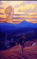 XX Secolo Le Minacce Del Comunismo Proletario - Boemia 1906 - Riproduzione Da Originale - Cartoline