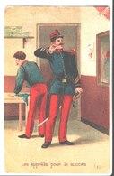 Les Apprêts Pour Le Succès. De Marie Laribe à Fernand Conte . Sergent Fourrier 9° Bat Chasseur 4° Cie Longwy. 1907. - Uniformes