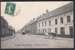 CPA 59 -  MARAIS DE LOMME, Rue De Canteleu - Francia