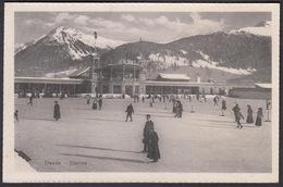 CPA  Suisse, DAVOS, Eisrink -  Ice Skating Rink - GR Grisons