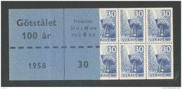 SUEDE 1958 - CARNET  YT C432a - Facit H123 - Neuf ** MNH - Procédé Bessemer De Traitement De L'acier - 1951-80