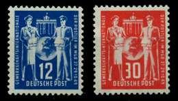 DDR 1949 Nr 243-244 Postfrisch X6E90B2 - Ungebraucht