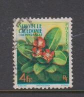 New Caledonia SG 341 1958 Flowers 4F Used - New Caledonia