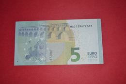 5 EURO M004 J4 PORTUGAL M004J4 - Serial Number MA2189672867 - UNC FDS NEUF - 5 Euro